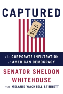 "U.S. Senator Sheldon Whitehouse (D-RI) wrote this book about the growing--and worrying--trend of corporate money influencing politics, which especially affects the regulation of the fossil fuel industry. His interviews for The New Yorker, ""Living on Earth,"" and ""Morning Joe"" explained how this came to pass, and what citizens can do about it."