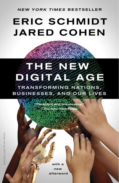 """Google's Eric Schmidt and Jared Cohen launched the paperback of their book with a network package of interviews on """"CBS Evening News"""" and """"CBS This Morning""""."""