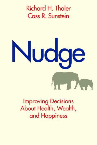 """Richard Thaler and Cass Sunstein wrote this landmark book before """"behavioral economics"""" was an everyday phrase. The book became a phenomenon and is still cited today. Media for the book included the New York Times, The Wall Street Journal, PBS, NPR, and countless other national outlets."""