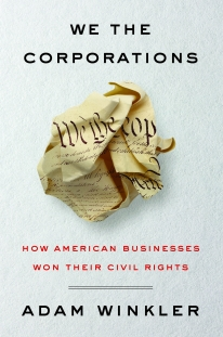 """The history of corporate """"personhood"""", written by UCLA's Adam Winkler, was covered by The Wall Street Journal, The New York Times, NPR, to name just a few."""